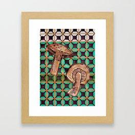 Mushroom #1 Framed Art Print