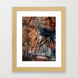 Chocolate Dunes Framed Art Print