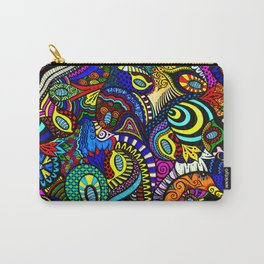 Loopy Zentangle Carry-All Pouch