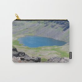 road trip, high mountain lake, fish Carry-All Pouch