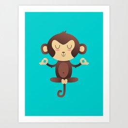 ChimpanZEN Art Print