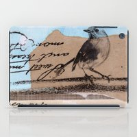 birdy iPad Cases featuring Birdy by zAcheR-fineT