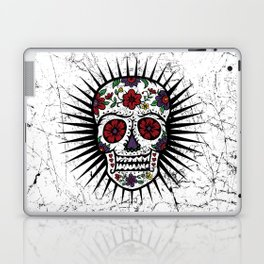 Sugar Skull Star Laptop & iPad Skin