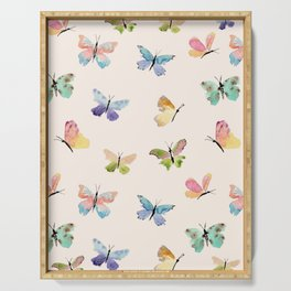 Beautiful Butterflies Serving Tray