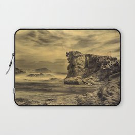 Volcanic Reef ..... Hand Painted Photograph Laptop Sleeve