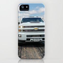 Rolling shot heavy duty pickup  iPhone Case