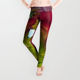 Still life with Red Tulips Leggings
