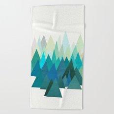 Cold Mountain Beach Towel