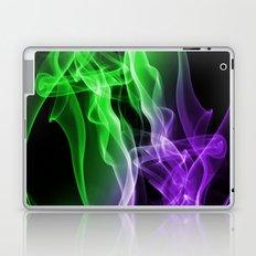 Smoke colour Green and purple Laptop & iPad Skin