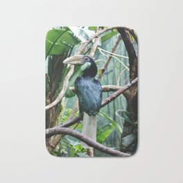 Female Hornbill Bath Mat
