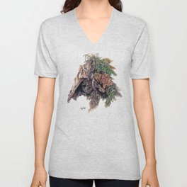 Colors of the Cypress Unisex V-Neck