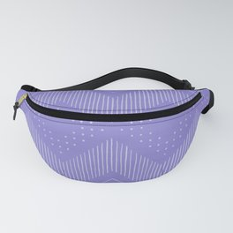 Periwinkle Tribal Fanny Pack