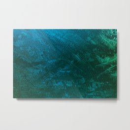 Ferns pattern Metal Print