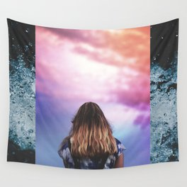 breathe and be brave Wall Tapestry