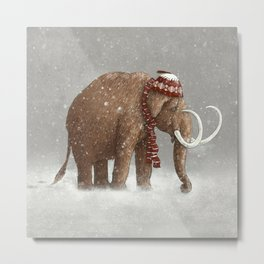 The Ice Age Sucked  Metal Print