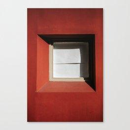 minimal red #2 Canvas Print
