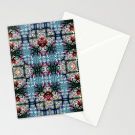 PATTERN LILY ELODIE 2 BLOSSOM ABSTRACT Stationery Cards
