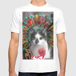 You're own purrrrrsonal Toki T-shirt