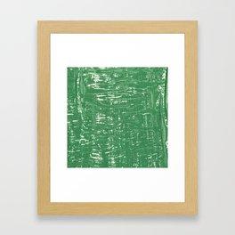 NYC Walls (zelen v.3) Framed Art Print