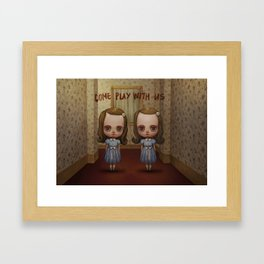 The Grady Twins Framed Art Print