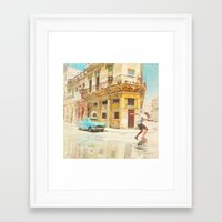 rio Framed Art Prints featuring RIO by Nechifor Ionut