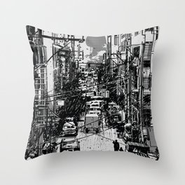 Something In Between Throw Pillow