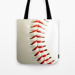 Base Ball Close Up Tote Bag