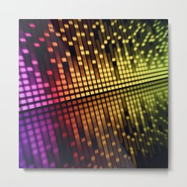 sound equalizer Metal Print