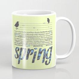 In Springtime Coffee Mug