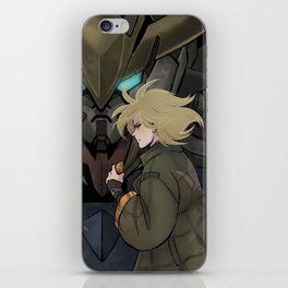 Iron-Blooded Tiger iPhone Skin