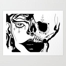 'till death Art Print