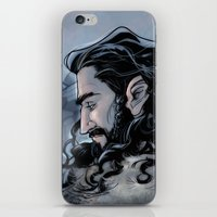 thorin iPhone & iPod Skins featuring Thorin by Ammo
