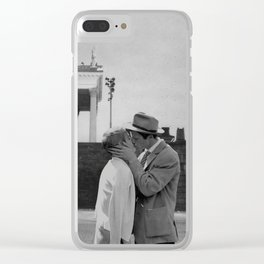 Collage Á bout de souffle (Breathless) - Jean-Luc Godard Clear iPhone Case