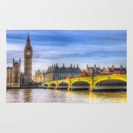 Westminster Bridge and Big Ben Rug