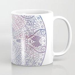 deer mandala (white) Coffee Mug