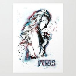 heaven ii Art Print