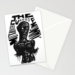 The curse of Mutilated Mummy Stationery Cards