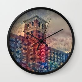 Ponce Dream Spirals Wall Clock