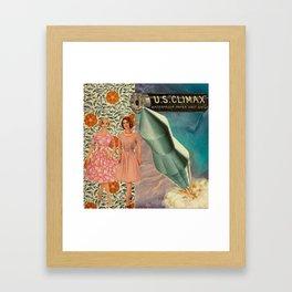Climax Framed Art Print