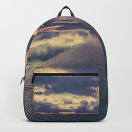 Stormy Beach Sunset Backpack