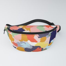 Bright Paint Blobs Fanny Pack