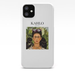 Kahlo - Self-portrait iPhone Case