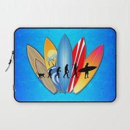 Surfing Evolution Laptop Sleeve