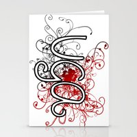 georgia Stationery Cards featuring Georgia by Tanie