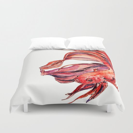 Fighter Duvet Cover