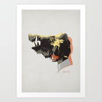 hannibal Art Prints featuring hannibal by 45cave