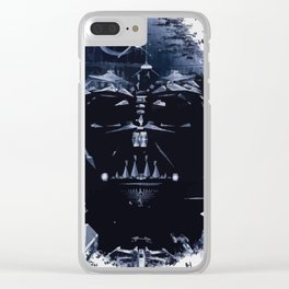 the Darth side Clear iPhone Case