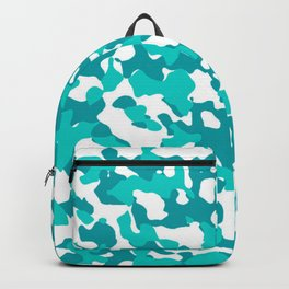 Camouflage Turquoise Teal Backpack