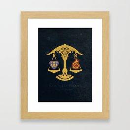 Ul'dha Flag - The Immortal Flames ( FFXIV) Framed Art Print