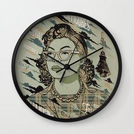 mathematician Wall Clock
